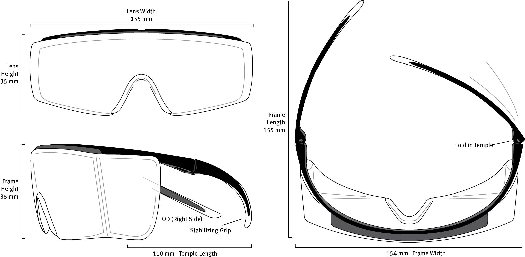F22 Shield Dimensions