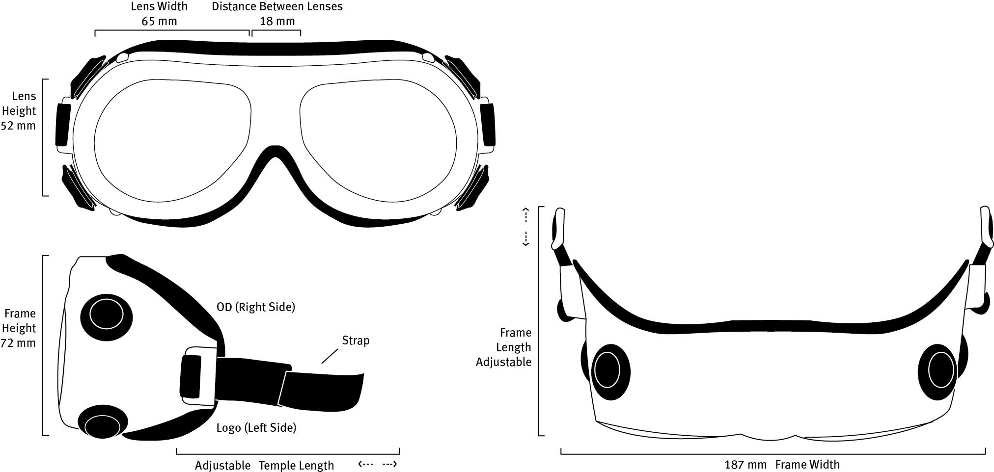 F12 Frame Dimensions