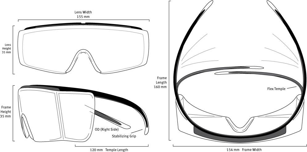 F18 Frame Dimensions
