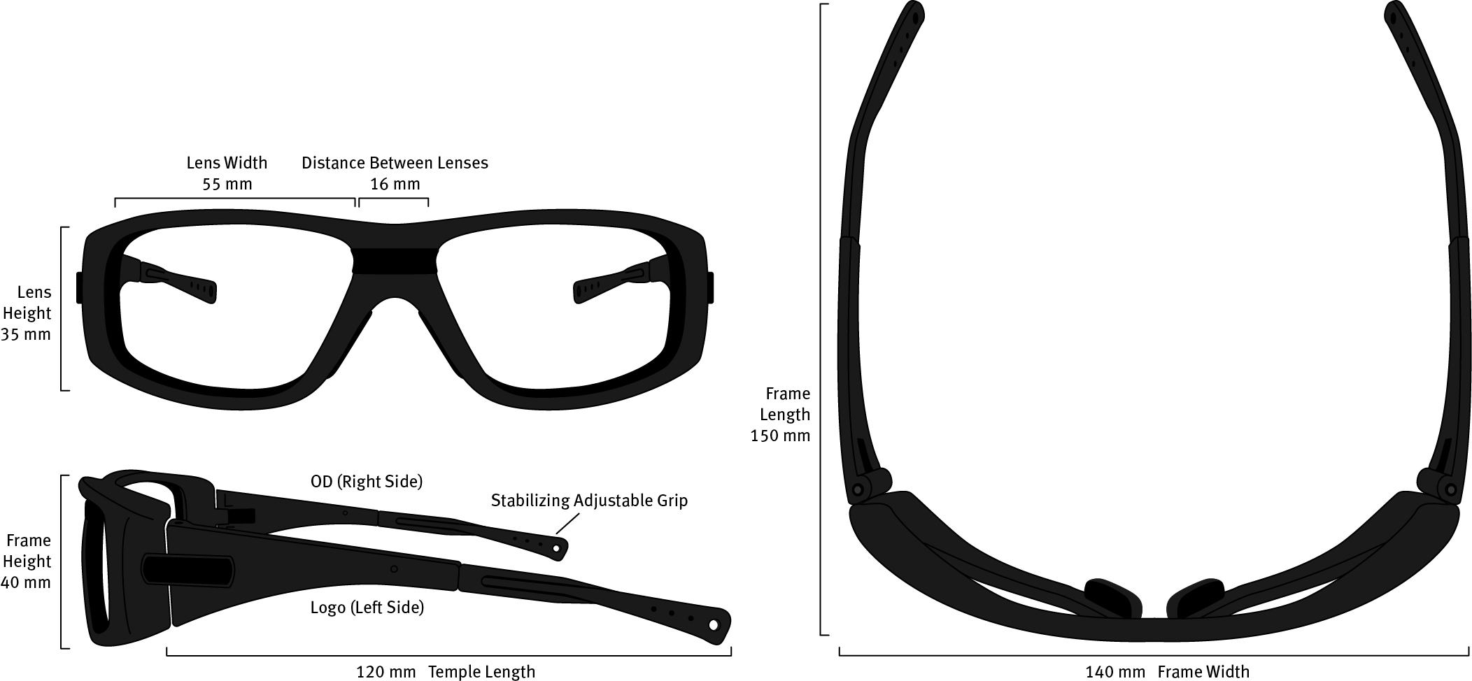F19 Frame Dimensions