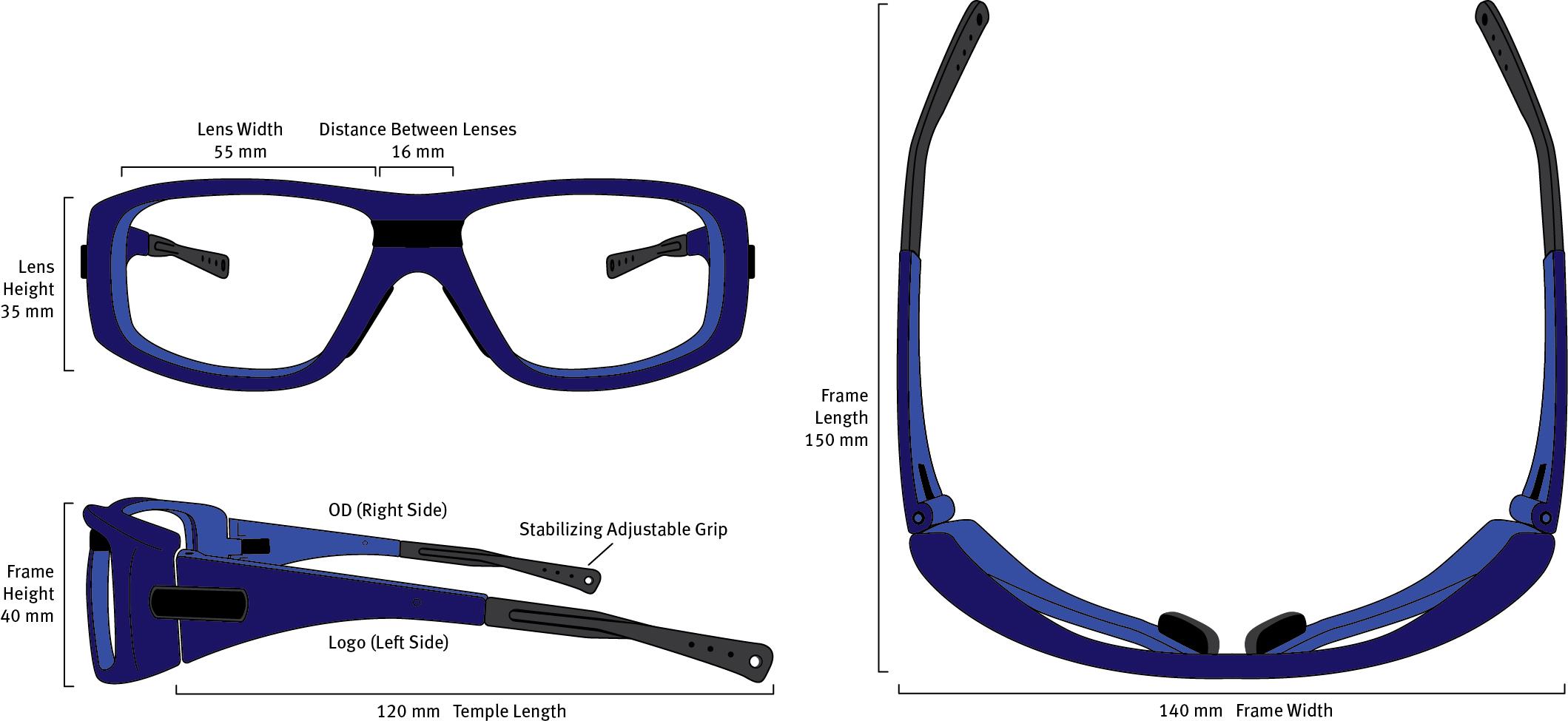 F21 Frame Dimensions