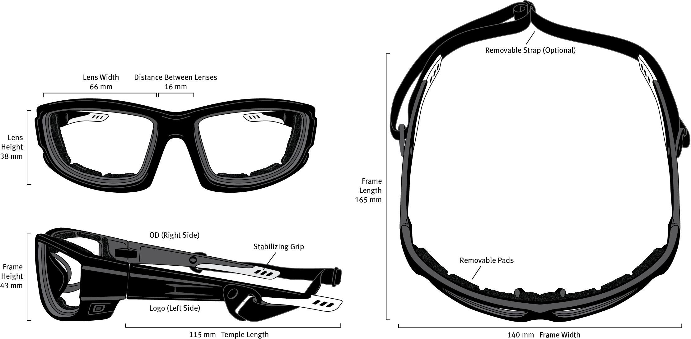 F24 Frame Dimensions