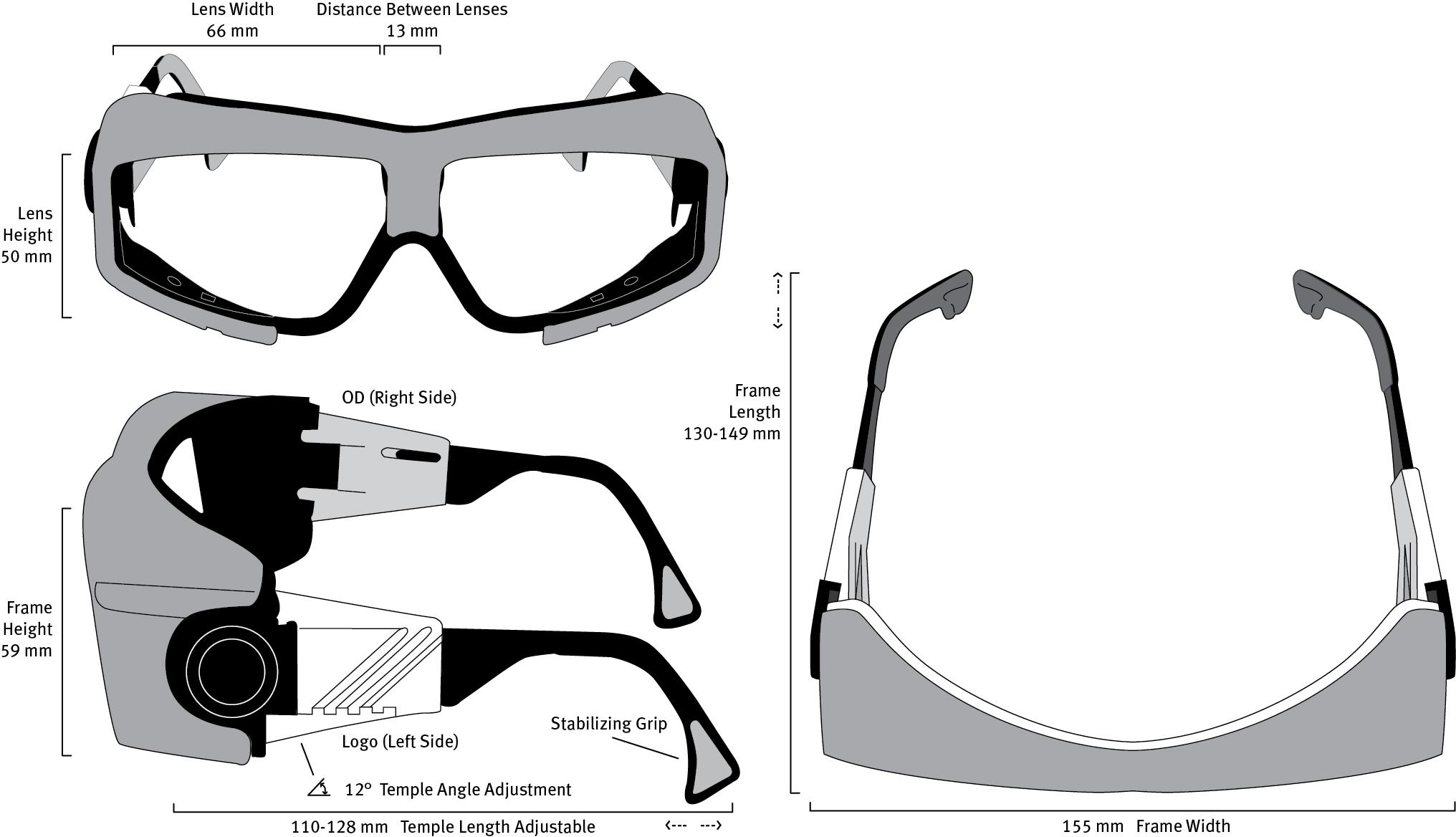R10 Frame Dimensions